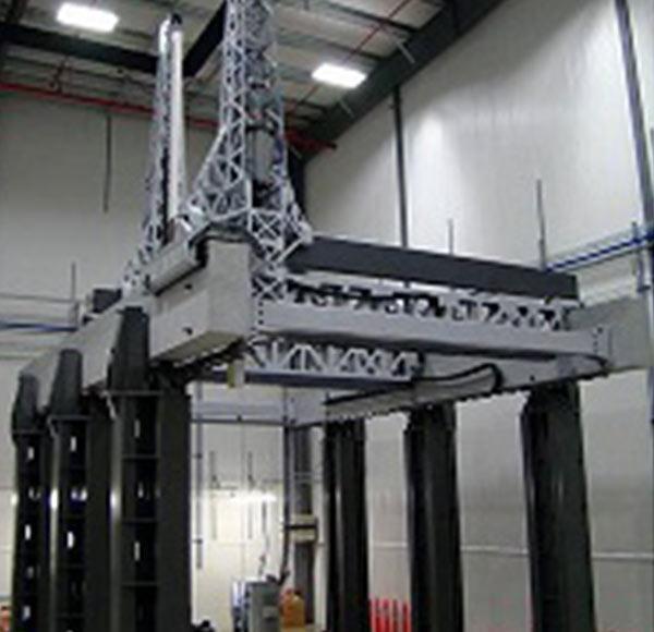 多轴大跨度门架式系统