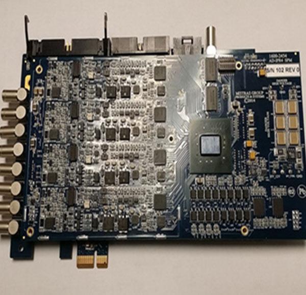 PCI-E总线结构多通道超声板卡