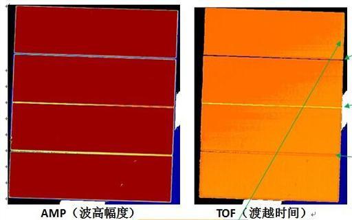 金属材料水浸C扫描检测-水浸超声铝试件检测