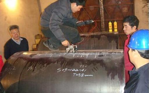 TOFD焊缝检测案例