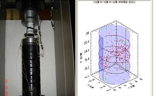 岩石力学应用-声发射定位技术在岩样破坏加载过程中的应用